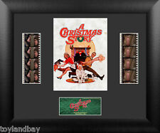 Film Cell Genuine 35mm Framed & Matted Christmas Story Double Montage USFC6163