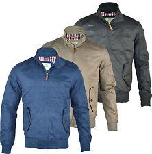 Crosshatch Funnel Neck Zip Coats & Jackets for Men