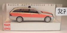 Busch 1/87 Nr. 49451 Mercedes Benz E-Klasse Kombi Notarzt OVP #327