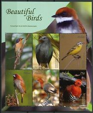 Palau 2018 MNH Beautiful Birds Wagtail Mannikin Crake Pigeon 6v M/S II Stamps