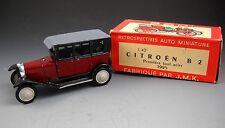 Rami for JMK Maroon CITROEN B2 1925 Limousine Retrospectives Auto Miniature