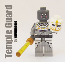 LEGO Custom - Temple Guard Grey Jedi Star Wars rebels -  minifigures gray