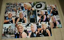 """ALICE EVE MEN IN BLACK HAND SIGNED AUTOGRAPHED 10X8""""  PHOTO + 12 PHOTO PROOFS"""