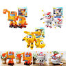 TV Animation Characters Super Wings Transforming Plane Vehcile Robot kids Toys