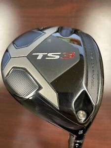 Used Men's Titleist TS3 Fairway Right Handed 15 Degree 6.0 Flex Strong 3 PJ X