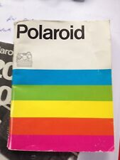 Instruction Manual for Polaroid Sonar sx-70 Box-Camera multilingual