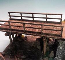 1/35 Escala Madera Multispan Barra Puente/Caballete