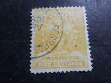 PEROU, PERU, 1896 timbre CLASSIQUE 113 oblitéré, PIZARRO, VF used STAMP