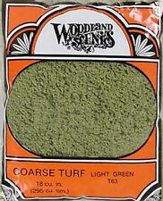 Woodland Scenics Turf Coarse Light Green 12 oz T63