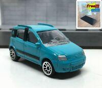 Majorette Fiat Panda 4x4 Blue 1/55 286B Wheel 5U no Package Free Display Box