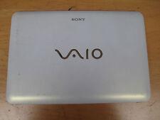 Sony Vaio PCG-21313M VPCM White Screen Lid, Surround Bezel & Hinges (6606)