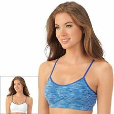 5fd04799b Lily of France Womens Dynamic Duo 2-pack Seamless Bralette L xl Blue