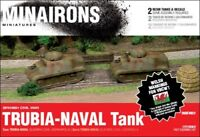 Minairons 1:72 Trubia-Naval (2 tanks) - 20mm Spanish Civil War
