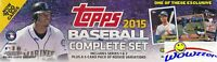 2015 Topps Baseball 706 Cards Factory Set-2 KRIS BRYANT RC+GRIFFEY JR REFRACTOR