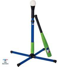 Batting Tee Baseball Hitting Stand With Foam Bat Swing Practice For Kids Set NEW