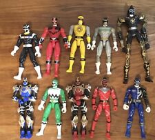 Power Rangers Action Figures Mix Lot Early 2000s
