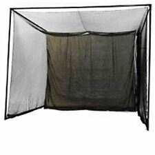 NEW 20x10x10 Indoor Golf Simulator Game Room Net w/ Corner Frame Kit.