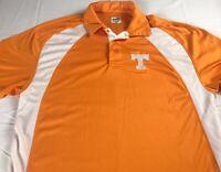 Tennessee Vols Polo Shirt Mens SZ S/M Dri-Fit Volunteers Student Alumni Graduate