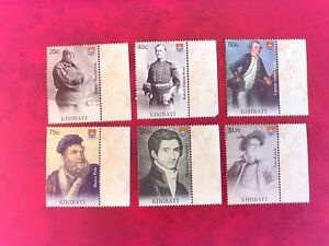 KIRIBATI 2009 MNH EXPLORATION SCOTT SHACKLETON COOK FLINDERS MARCO POLO CABOT