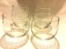4 Lot Of Apothecary Style Empty Clear Candle Jars No Lid