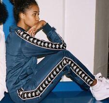 Kappa Bleu Marine Popper Pantalon De Survêtement Pantalon De Survêtement Medium polisson Snap Away