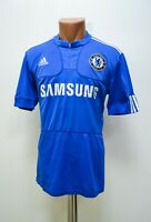 CHELSEA LONDON 2009/2010 HOME FOOTBALL SHIRT JERSEY ADIDAS SIZE S ADULT
