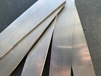 // Klingenstahl 500 x 31 x 3 mm Messerstahl Werkzeugstahl Damast 1.2067 102Cr6