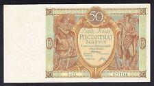 Poland 50 Zlotych 1929  VF P. 71  Banknotes, Circulated