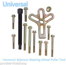 Universal 21 Piece Carbon Steel Harmonic Balancer Steering Wheel Puller Tool