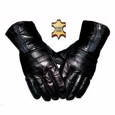 Herren Echt Lederhandschuhe gefüttert 100% Leder warm Finger Handschuhe Winter