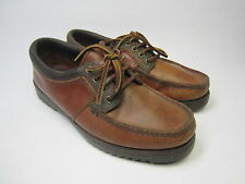 GH Bass & Co. Women's Size 7M Deck Shoes Brown Leather Boat Shoes