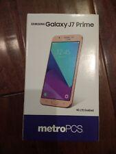 Samsung Galaxy J7 Prime SM-J727T 16GB Champagne Gold (MetroPCS) Smartphone -...