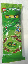 LEGO Ninjago Snake Arena & Green Ninja Headband, Card, 8 pc surprise bag 5000441