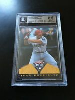 Ivan Rodriguez 1997 Pinnacle All-Star FanFest Playing Cards BGS graded 8.5 (PSA)