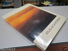 Atlas of California Vintage Hardcover Book 1979 in Color by Michael Donley *