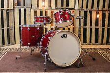 Dw Jazz Series Maple/Gum Ruby Glass Drum Set - 24, 13, 18, 6x14 - So#846277