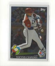 2009 Topps World Baseball Classic Rising Star Redemption Yoennis Cespedes RC