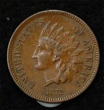 1872 Indian Cent  XF-AU, Scarce this Nice!