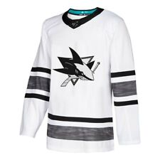 San Jose Sharks Adidas White 2019 NHL All-Star Game Parley Jersey