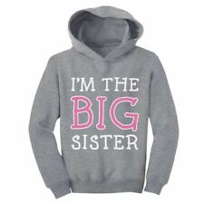 I'm A Big Sister - Cute Sibling Gift Idea Toddler Hoodie Little Girl