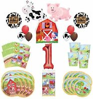 Farm Animal Party Supplies 8 Guests 1st Birthday Balloon Bouquet Decorations