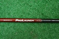 """NEW GRAFALLOY PROLAUNCH AXIS RED 60S STIFF DRIVER WOOD SHAFT 46"""" .335 283262"""