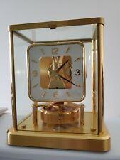 JAEGER LECOULTRE eCoultre Atmos clock, Caliber 540 GOLD RARE CLOCK OLD ANTIQUE