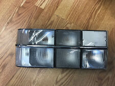 Volvo 740 Sedan Tail light set - with all CLEAR lenses