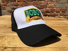Bobos Beard Company Classic Black Trucker Men's Fashion Hat  Cap Hat