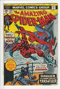 The Amazing Spider-Man #134 - 1st TarantulaMarvel 1974 Mid-Grade 7.0 w/Stamp
