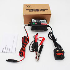 NEW 110V Car ATV Battery Charger Tender 1A Trickle Lead Acid Battery Maintainer