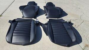 PORSCHE 911 912 924 944 GERMAN VINYL UPHOLSTERY STANDARD SEAT KIT SET BEAUTIFUL