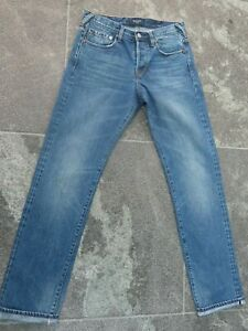 PAUL SMITH SELVEDGE EDGE BLUE SLIM FIT JEANS W 30 L 34 VERY GOOD CONDITION!!!!!