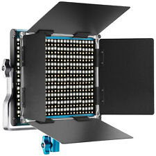 Neewer Bi-color Luz Video LED Regulable 660 Perlas 3200-5600K con Barndoor